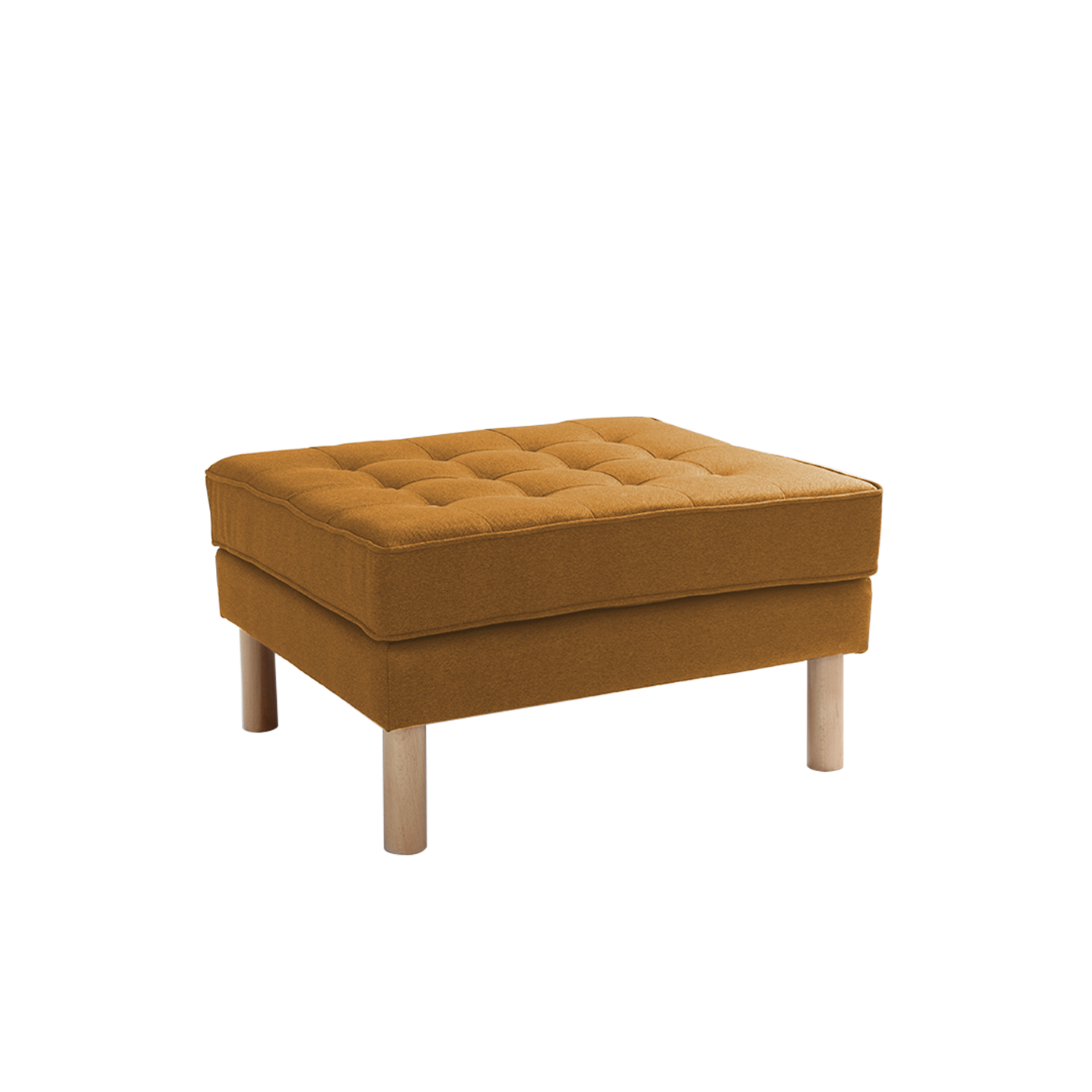 Pouf Topic Wood   Honey