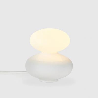 Tischlampe Reflection Oval 6W   Mattweiß
