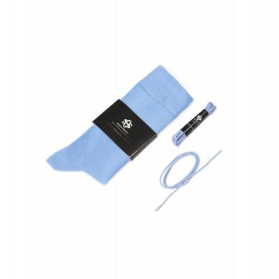 Set Socks & Laces | Blue / Size 43 - 46
