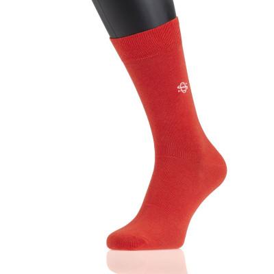 Socks | Orange Rust
