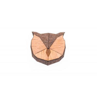 Holzbroschkeneule