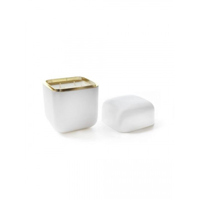 Oyster Candle | White Ghost Diamond