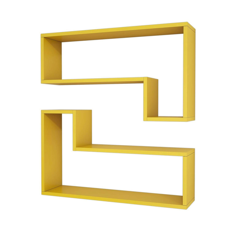 Shelf Ozy Set of 2 | Yellow