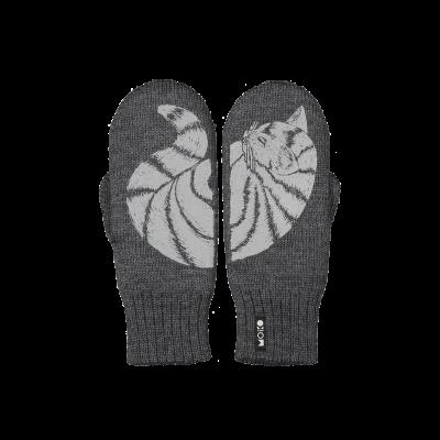 Zweilagige Reflektierende Handschuhe Katti   Graphit