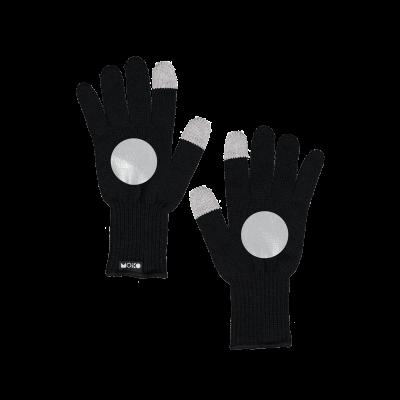 Reflektierende Touchscreen-Handschuhe Kuu   Schwarz