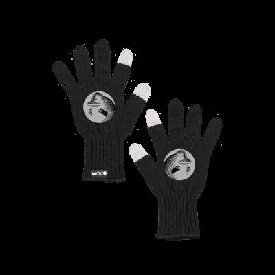 Reflektierende Touchscreen-Handschuhe Mörkö   Schwarz