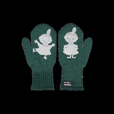 Einlagige Reflektierende Kinderhandschuhe Kuje   Grün