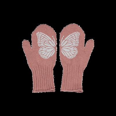 Einlagige Reflektierende Kinderhandschuhe Taika   Rosa