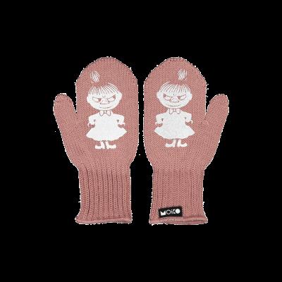Einlagige Reflektierende Kinderhandschuhe Kuje   Rosa