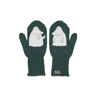 Einlagige Reflektierende Kinderhandschuhe Mörkö   Grün