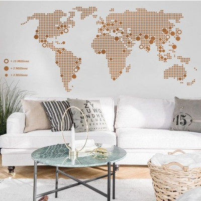 World Map | Copper