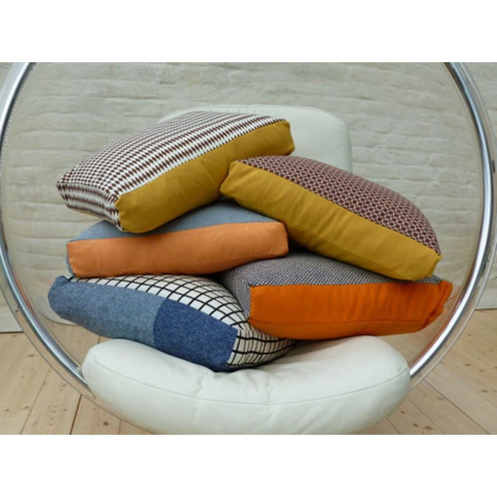 Esperanza cushion blue/orange