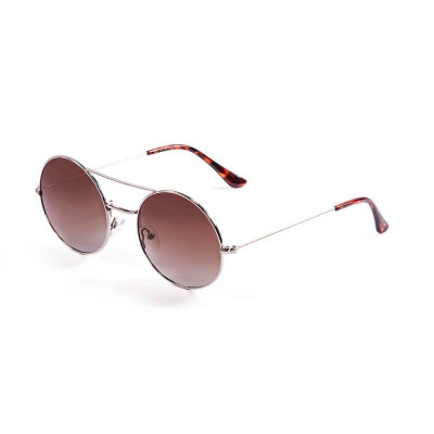 Sonnenbrille Inspiration VI | Silber + Braune Linse