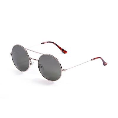 Sonnenbrille Inspiration VI | Silber + Graue Linse