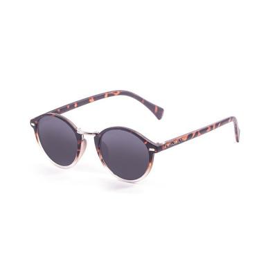 Sonnenbrille Maryland | Braun-Weiß + Graue Linse