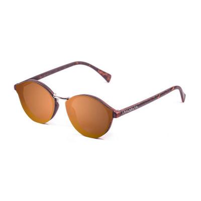 Sonnenbrille Turin | Braun & Gold + Braunes Glas