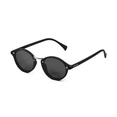 Sonnenbrille Turin | Schwarz + Graue Linse