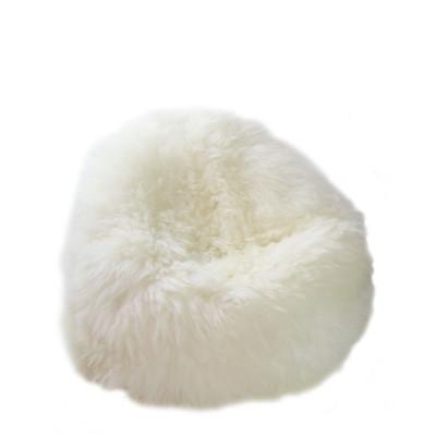 Pouf Moumoute Kid | White | Short Hairs