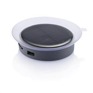 Solarladegerät-Anschluss   Grau