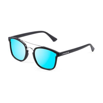 Sonnenbrille Librea | Schwarz + Blaue Linse