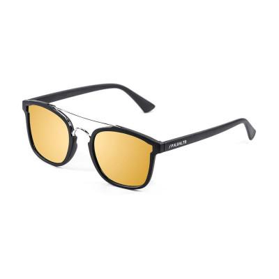 Sonnenbrille Librea | Schwarz + Goldene Linse