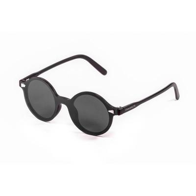 Sonnenbrille Portland | Schwarz + Rauchglas