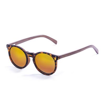 Sonnenbrille Hashbury | Braune + rote Linse