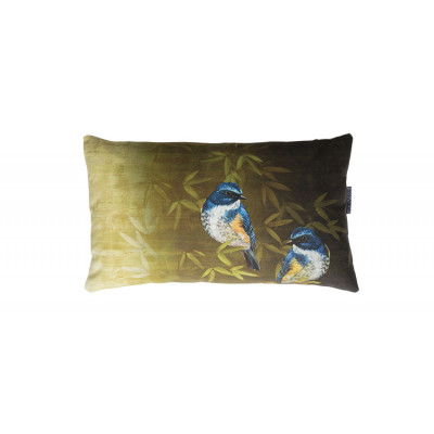 Kissen | Vogel Blau Small