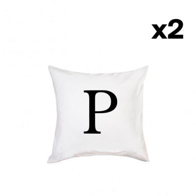 2er-Set Kissenbezügen | P