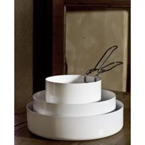 ABCT Low Casserolle - Ø 28 cm | White