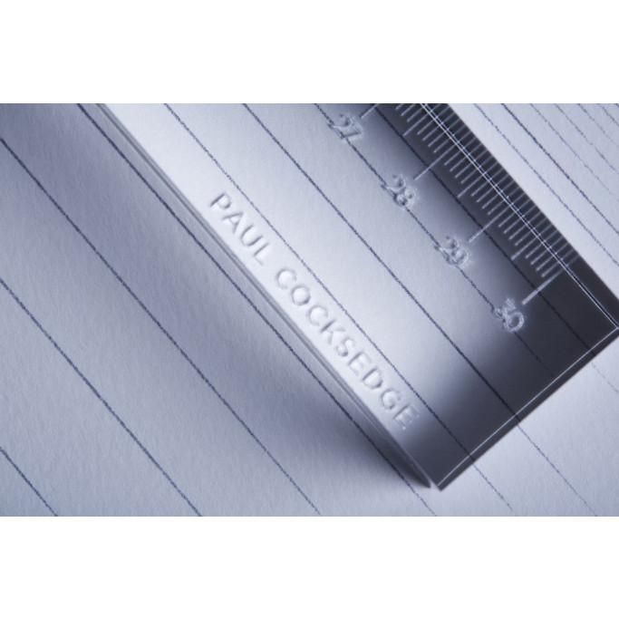 Satz mit 2 Linealen   Lineal & Rolle