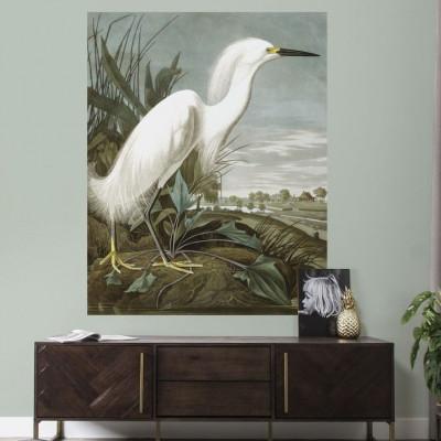 Wall Board | Snowy Heron