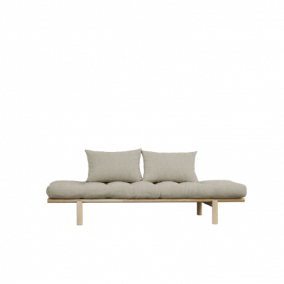 Daybed Pace | Natural Frame & Linen Mattress