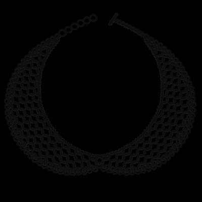 Necklace Colette | Black