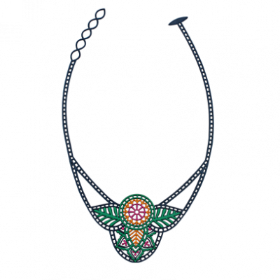India Necklace | Blue