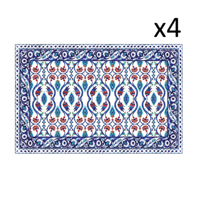 Vinyl-Tischsets Armenien 4er-Set