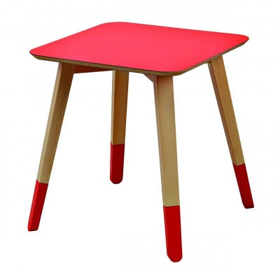 Mister Paint Niedriger Tisch Rot