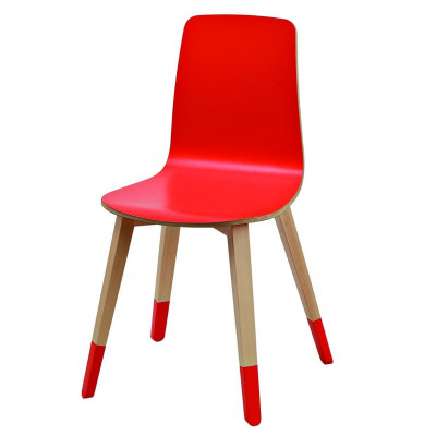 Miss Paint Stuhl Rot