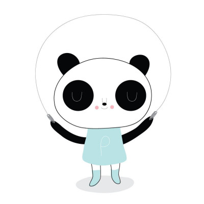 Panda Girl ! 2er-Set