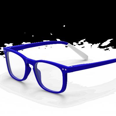 Lesebrillen Pantone N° Three | Electric Blau