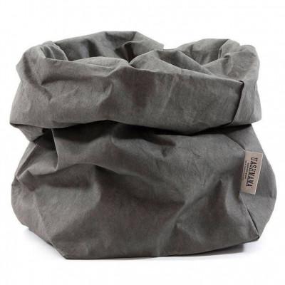 Basic Paper Bag | Dark Grey