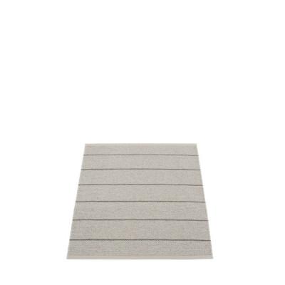 Kunststoffteppich Carl | Warmes Grau
