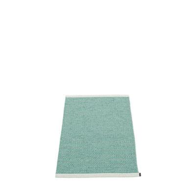 Teppich Mono   Jade-Pale Türkis