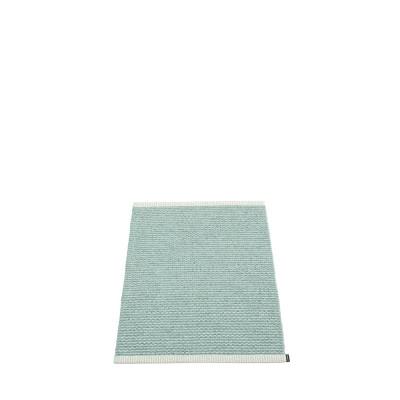 Teppich Mono   Dunst-Pale Türkis