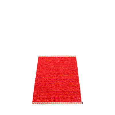 Teppich Mono | Rot-Korallenrot