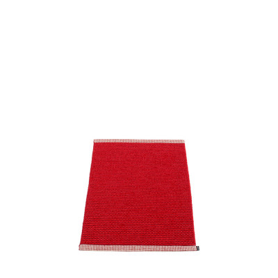 Teppich Mono | Dunkelrot-Rot
