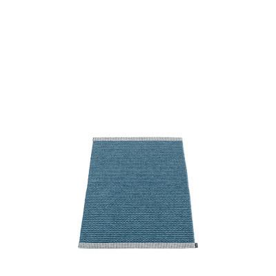 Teppich Mono   Ozeanblau-Taubenblau