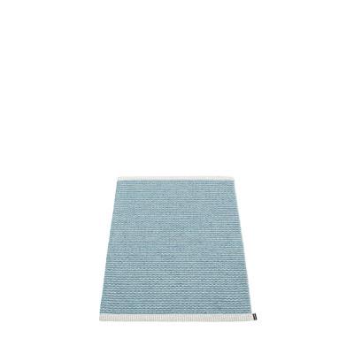 Teppich Mono   Blauer Nebel-Dunkelblau