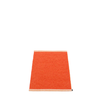 Teppich Mono | Orange-Korallenrot