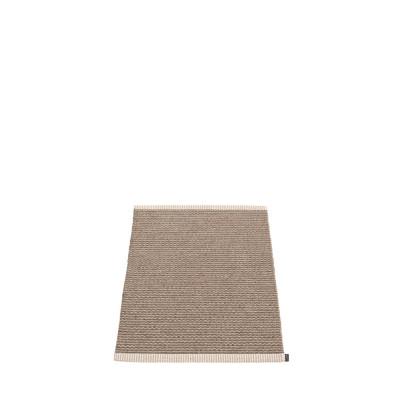 Teppich Mono   Dunkler Schlamm - Schlamm